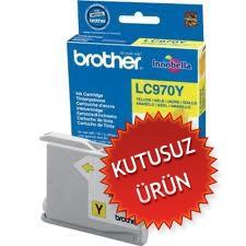 BROTHER - BROTHER LC-970Y SARI ORJİNAL KARTUŞ ( KUTUSUZ ÜRÜN)