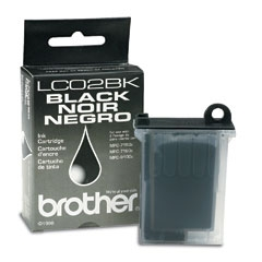 BROTHER - BROTHER LC02BK SİYAH KARTUŞ MFC-7100 / MFC-730 / MFC-740 / MFC-9100C