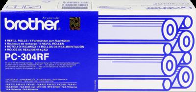 BROTHER - BROTHER PC-304RF FAX-770, FAX-775, FAX-870MC, FAX-885MC FAX FİLMİ 4lü PAKET