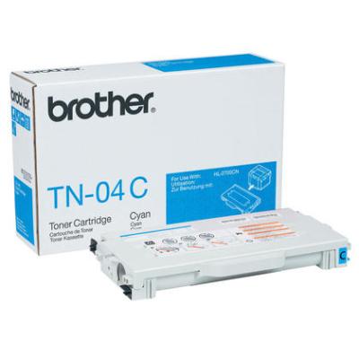 BROTHER - BROTHER TN-04C MAVİ ORJİNAL TONER HL-2700CN / MFC-9420