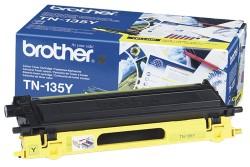 BROTHER - BROTHER TN-135Y SARI ORJİNAL TONER- DCP-9040 / HL-4040 / MFC-9440