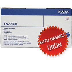 BROTHER - BROTHER TN-2260 ORJİNAL TONER (Kutu Hasarlı) DCP-7065 / HL-2250 / MFC-7360