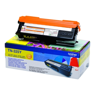 BROTHER - BROTHER TN-325Y SARI ORJİNAL TONER- DCP-9055 / HL-4140 / MFC-9460