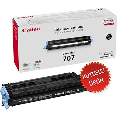 CANON - CANON CRG-707B SİYAH ORJİNAL TONER- LPB5000 / LBP5100 (Kutusuz Ürün)