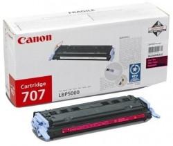 CANON - CANON CRG-707M KIRMIZI ORJİNAL TONER- LPB5000 / LBP5100 TONERİ