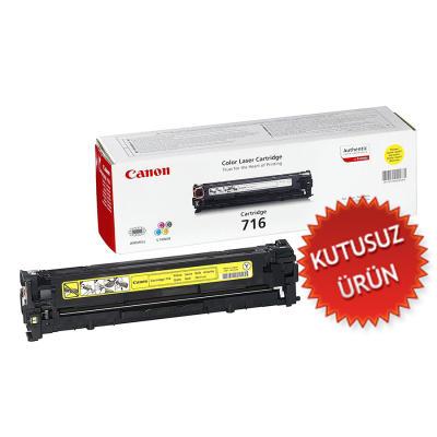 CANON - CANON CRG-716Y SARI KUTUSUZ ORJİNAL TONER-LBP5050 / MF8030Cn / MF8050Cn