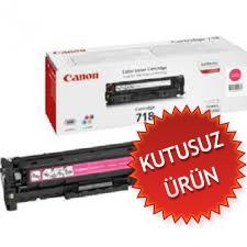 CANON - CANON CRG-718M KIRMIZI ORJİNAL TONER- LBP-7200 / MF8330C (Kutusuz Ürün)