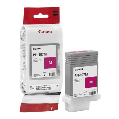 CANON - CANON PFI-107M KIRMIZI ORJİNAL KARTUŞ iPF680 / iPF685 / iPF780 / iPF785