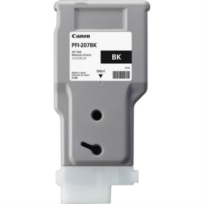 CANON - CANON PFI-207BK SİYAH ORJİNAL KARTUŞ iPF680 / iPF685 / iPF780 / iPF785