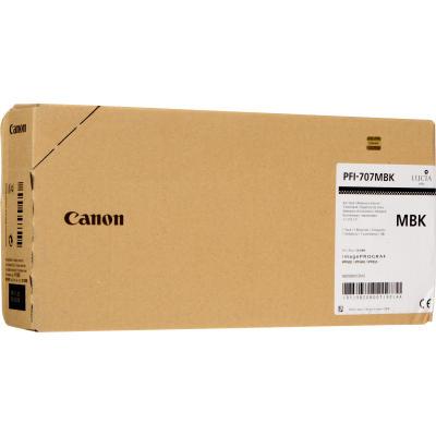 CANON - CANON PFI-707MBK SİYAH ORJİNAL KARTUŞ iPF830 / iPF840 / iPF850