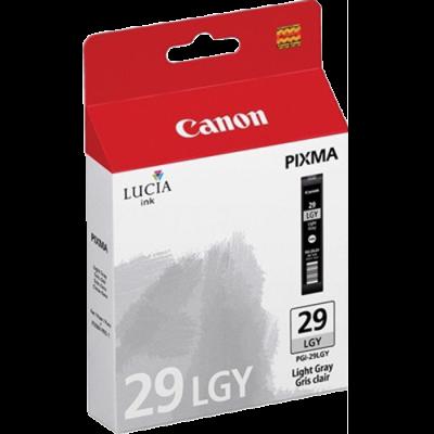 CANON - CANON PGI-29LGY AÇIK GRİ (Light Gray) ORJİNAL KARTUŞ - Canon Pixma Pro 1