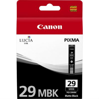 CANON - CANON PGI-29MBK MAT SİYAH ORJİNAL KARTUŞ - Canon Pixma Pro 1