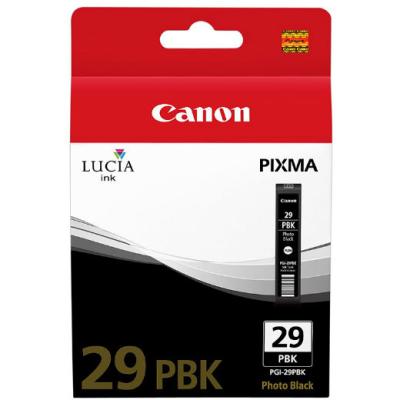 CANON - CANON PGI-29PBK FOTO SİYAH ORJİNAL KARTUŞ - Canon Pixma Pro 1