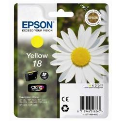 EPSON - EPSON 18 T18044020 SARI KARTUŞ XP-202 / XP-205 / XP-305 / XP-405