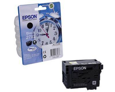 EPSON - EPSON 27XL T2711 SİYAH ORJİNAL KARTUŞ WF-3620 / WF-7110 / WF-7610 / WF-7620