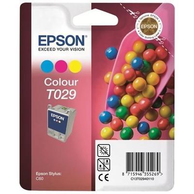 EPSON - EPSON C13T02940120 T029 RENKLİ ORJİNAL KARTUŞ