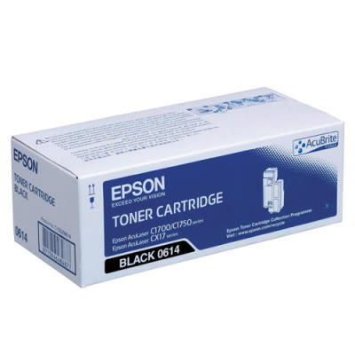 - EPSON CX17 / C1700 S050614 SİYAH ORJİNAL TONER