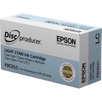 EPSON - EPSON PJIC2(LC) PP-100 AÇIK MAVİ ORJİNAL KARTUŞ-DiscProducer (S020448)