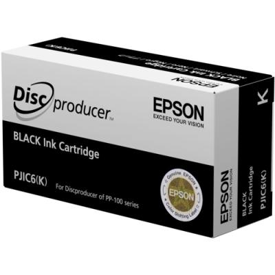 EPSON - EPSON PJIC6(K) PP-100 SİYAH ORJİNAL KARTUŞ-DiscProducer (S020452)
