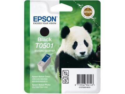 EPSON - EPSON S020093 T0501 SİYAH ORJİNAL KARTUŞ