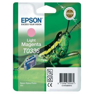 EPSON - EPSON T0336 C13T033640 AÇIK KIRMIZI ORJİNAL KARTUŞ