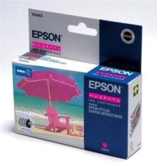 EPSON - EPSON T0443 C13T044340 KIRMIZI ORJİNAL KARTUŞ