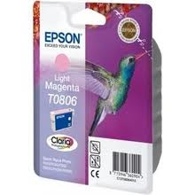 EPSON - EPSON T0806 AÇIK KIRMIZI ORJİNAL KARTUŞ (C13T08064021) - FOTO 265/R360
