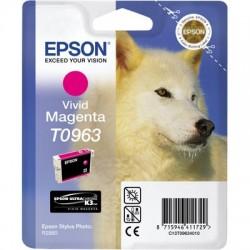 EPSON - EPSON T0963 KIRMIZI ORJİNAL KARTUŞ - Photo R2880