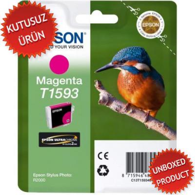 EPSON - EPSON T1593 KIRMIZI ORJİNAL KARTUŞ - R2000(Unboxed Product)