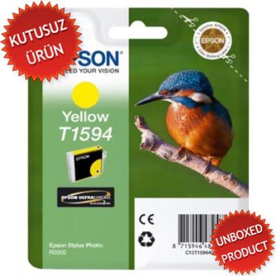 EPSON - EPSON T1594 SARI ORJİNAL KARTUŞ - R2000(Unboxed Product)