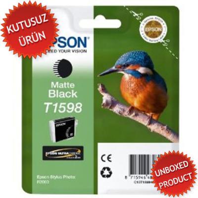 EPSON - EPSON T1598 MAT SİYAH ORJİNAL KARTUŞ - R2000(Unboxed Product)