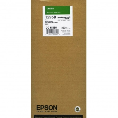 EPSON - EPSON T596B (C13T596B00) YEŞİL ORJİNAL KARTUŞ-Pro 7800 / 7900 / 9800 / 9900