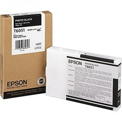 EPSON - EPSON T6051 FOTO SİYAH ORJİNAL KARTUŞ - PRO 4800 / 4880