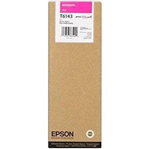 EPSON - EPSON T6143 KIRMIZI ORJİNAL KARTUŞ - Pro 4000 / 4400 / 7600 / 9600
