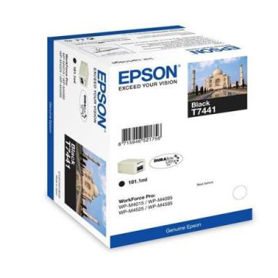 EPSON - EPSON T7441 C13T74414010 SİYAH ORJİNAL KARTUŞ WF-M4000 / WF-M4500