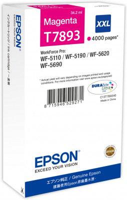 EPSON - EPSON T7893 KIRMIZI ORJİNAL KARTUŞ WF-5110 / WF-5190 / WF-5620 / WF-5690