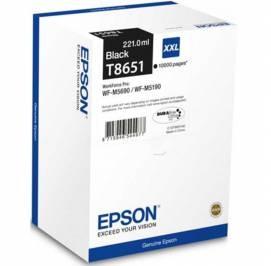 EPSON - EPSON T8651 XXL SİYAH YÜKSEK KAPASİTE ORJİNAL KARTUŞ WF-M5160 / WF-M5690