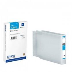 EPSON - EPSON T9082 XL MAVİ ORJİNAL KARTUŞ WF-6090 / WF-6590