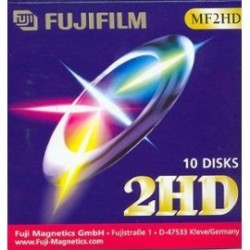 - FUJIFILM MF2HD 3.5 HD 1,44 MB FLOPPY DISK - Biçimlendirilmiş Disket 10LU Paket