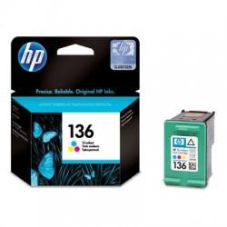 HP - HP 136 C9361HE RENKLİ ORJİNAL KARTUŞ