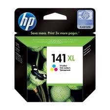 HP - HP 141XL CB338HE RENKLİ ORJİNAL KARTUŞ-YÜKSEK KAPASİTELİ
