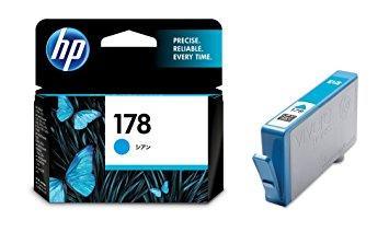 HP - HP 178 CB318HJ MAVİ ORJİNAL KARTUŞ C6380 / C6383 / B8550