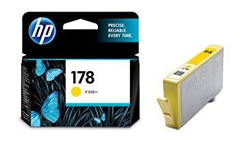 HP - HP 178 CB320HJ SARI ORJİNAL KARTUŞ C6380 / C6383 / B8550