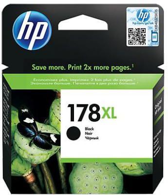 HP - HP 178XL CN684HJ SİYAH ORJİNAL KARTUŞ C6380 / C6383 / B8550