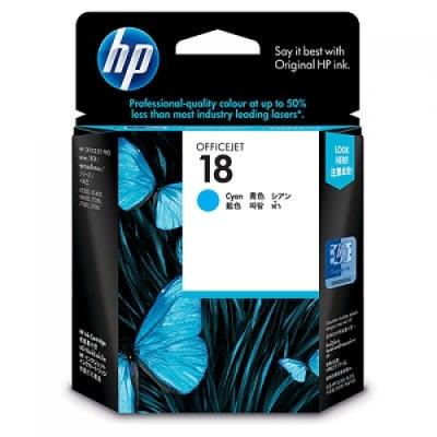 HP - HP 18 C4937A MAVİ ORJİNAL KARTUŞ K5300 / K5400 / K8600 / L7380