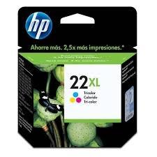 HP - HP 22XL C9352C RENKLİ ORJİNAL KARTUŞ-YÜKSEK KAPASİTE