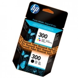 HP - HP 300 İKİLİ EKONOMİK PAKET ORJİNAL KARTUŞ CC640E / CC643E