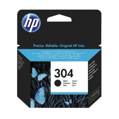 HP - HP 304 N9K06AE SİYAH ORJİNAL KARTUŞ - DeskJet 3720, 3730