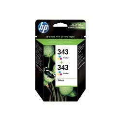 HP - HP 343 CB332E 2Lİ PAKET RENKLİ KARTUŞ