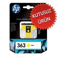 HP - HP 363 C8773EE SARI MÜREKKEP KARTUŞ (KUTUSUZ ÜRÜN)